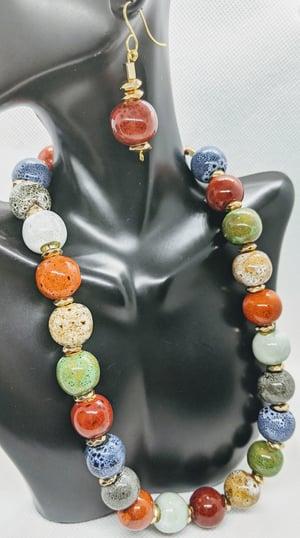 "Original ""Colorful Bubble Ceramic Balls Necklace Set"" Enter DISCOUNT CODE: STONES29 at check out!"