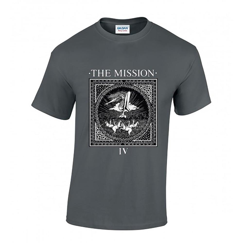 Image of Wasteland IV  Vintage Shirt - Charcoal Grey