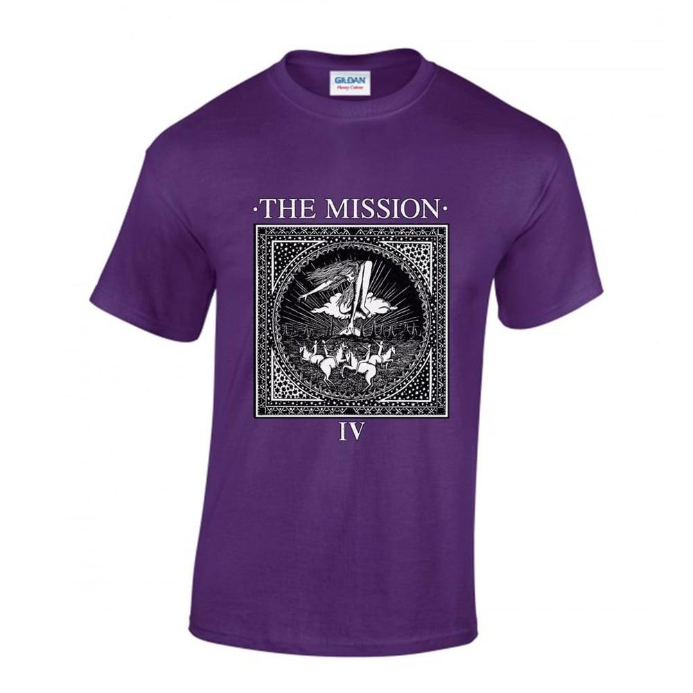 Image of Wasteland IV Vintage Shirt - Purple