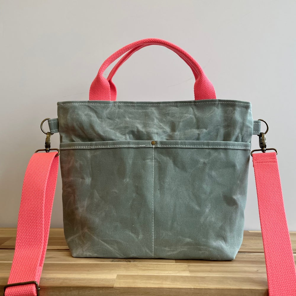 Image of Pre-Order Mint Crossbody Crafting Tote