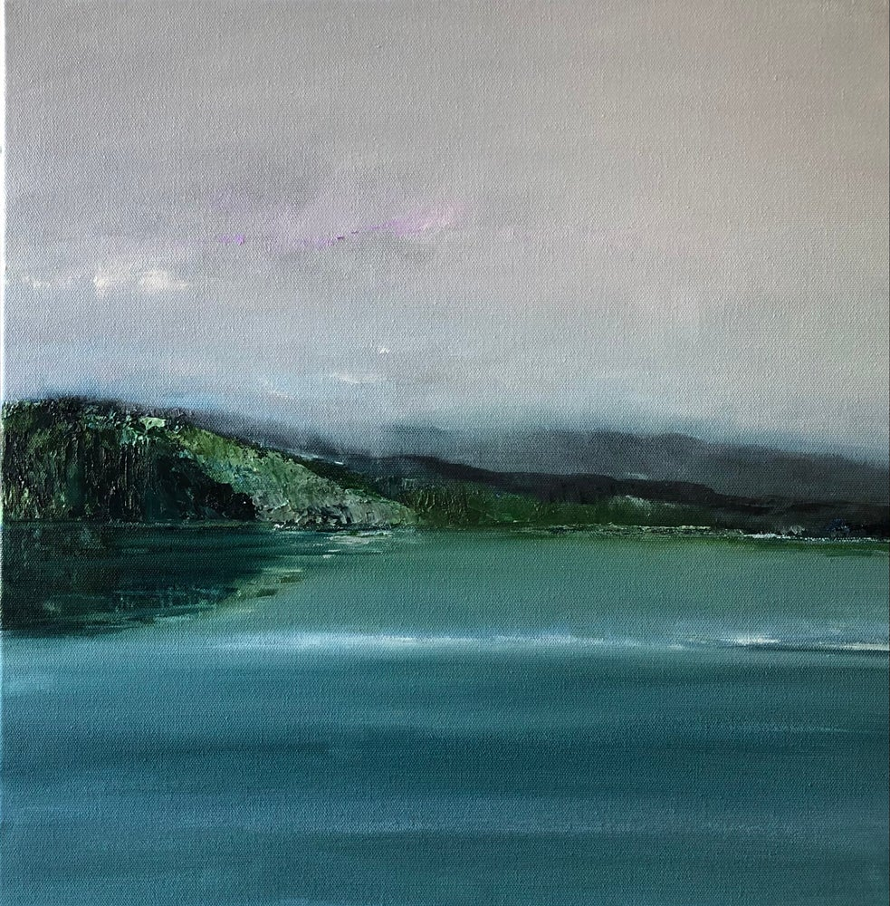 Image of 'A View for Two' 2021 Oil on canvas