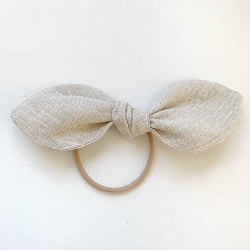 Image of Vinty Bowsie Hairtie: Linen