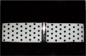 Image of Polka Dot Stretch Belt