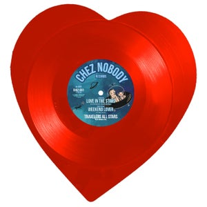 Image of LOVE IN THE STARS (Heart Shaped Vinyl)