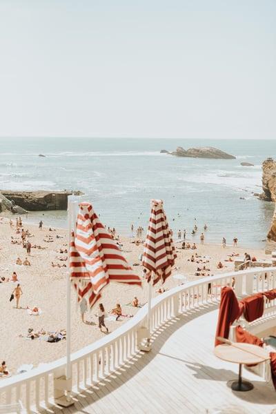 Image of Biarritz en mai
