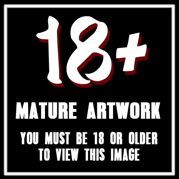 CATWDKRN01 - Noir Bed (Mature) 5x7 Mini-Print