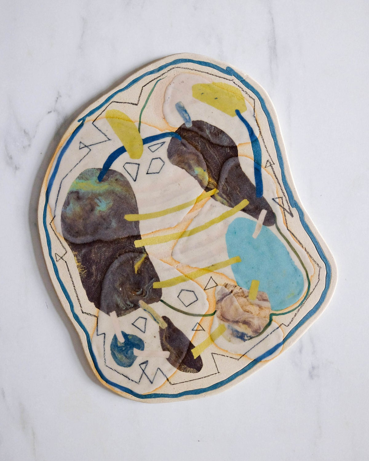 """""""connection"""" wall hanging / tile"""