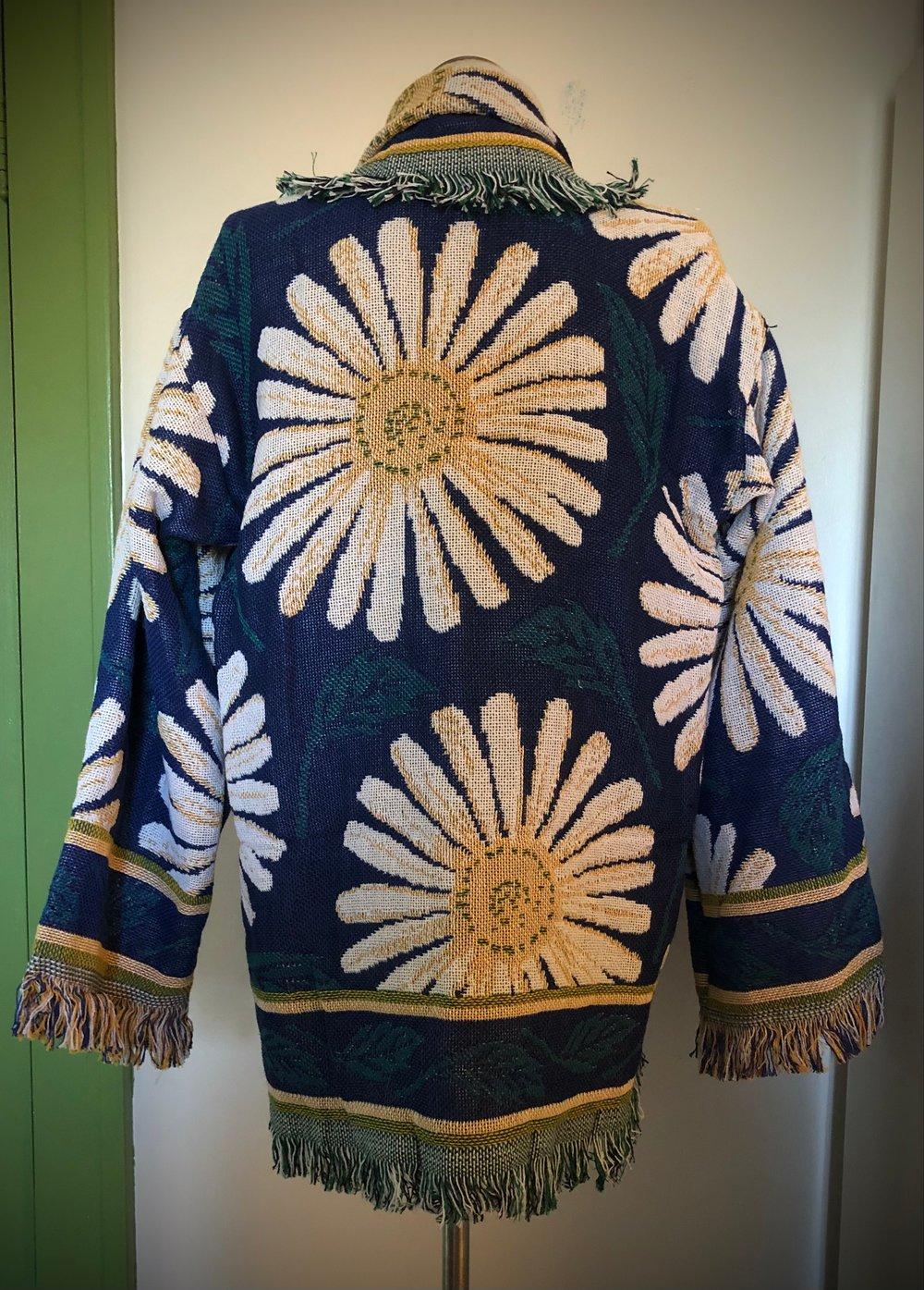 Lazy Dazy custom tapestry jacket