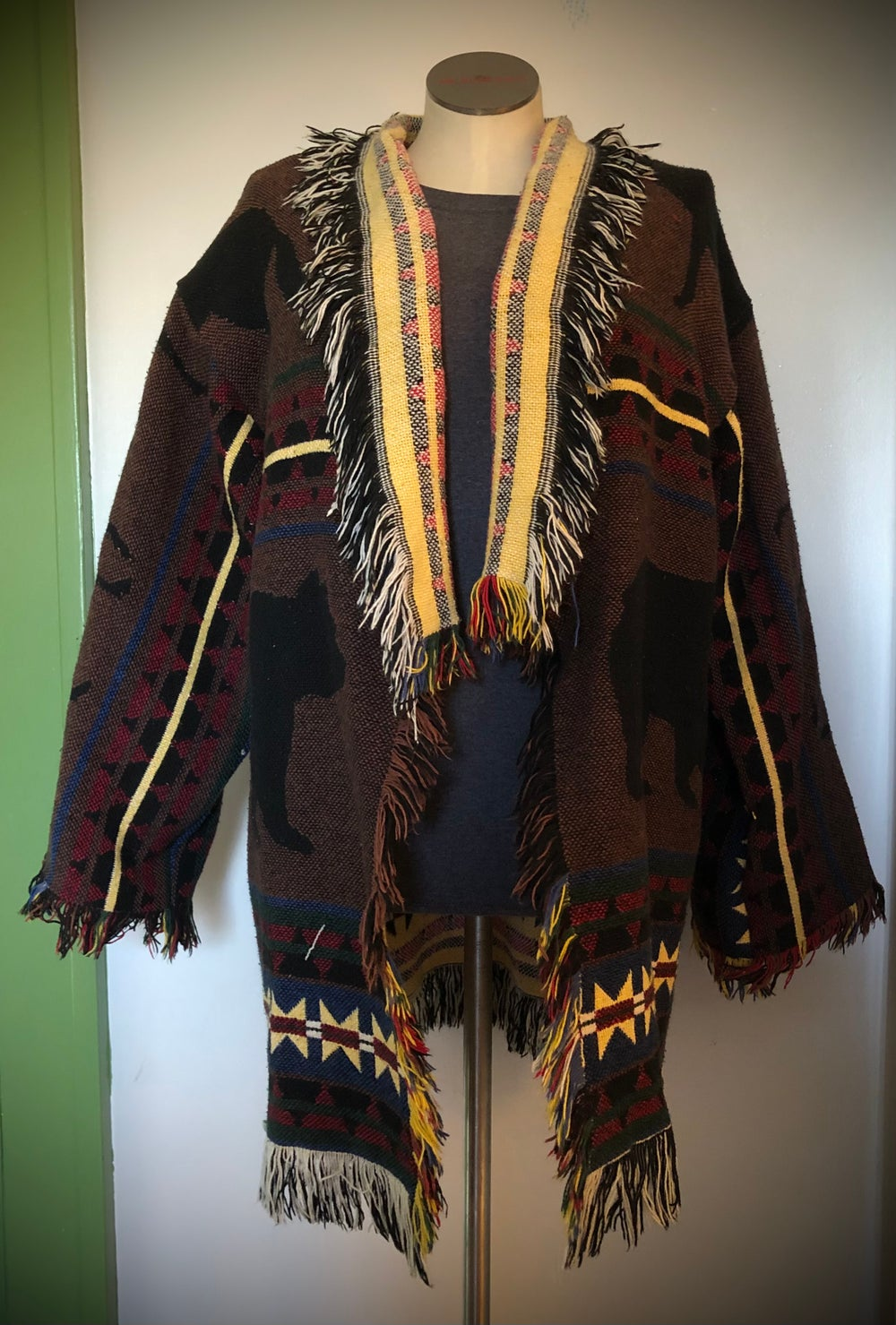 The Great Northern custom tapestry jacket