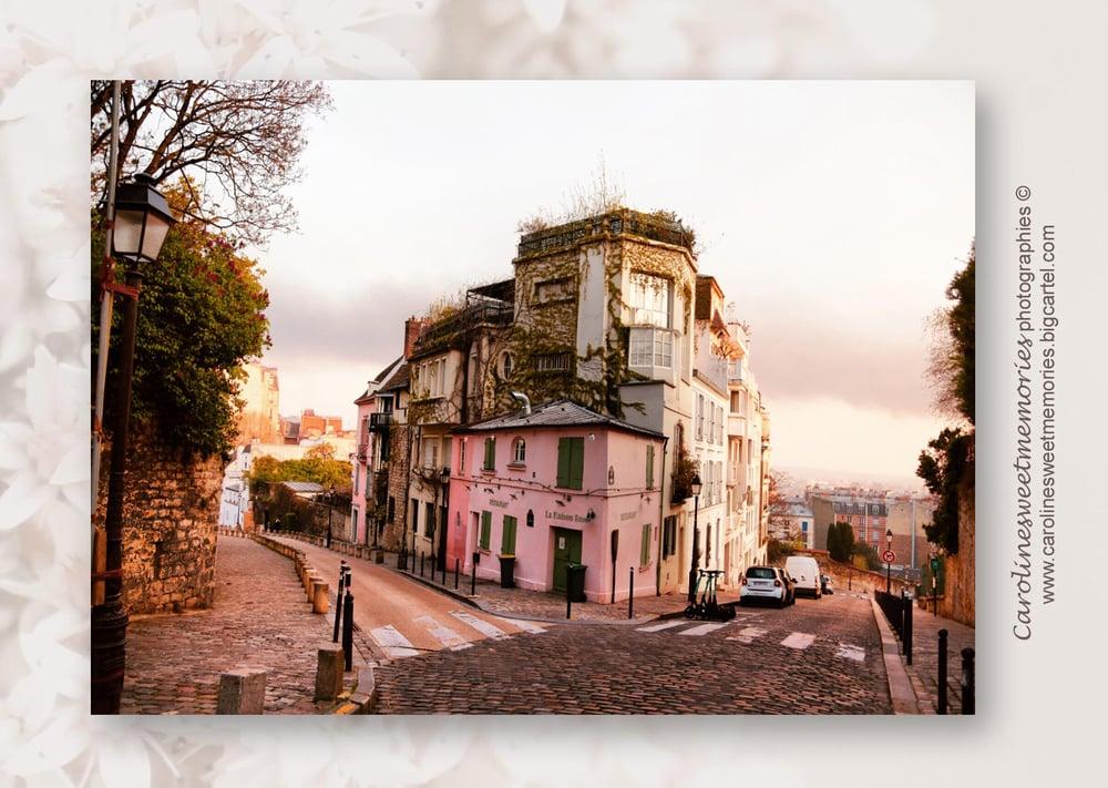 Image of La maison rose | carte postale