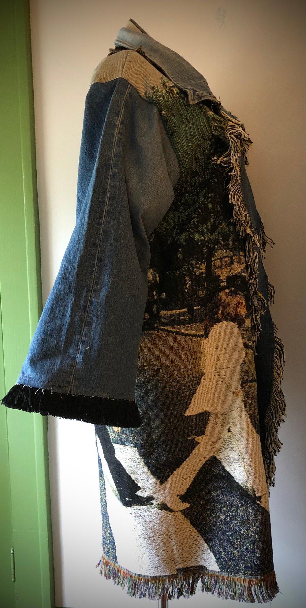 Abbey Road custom tapestry jacket