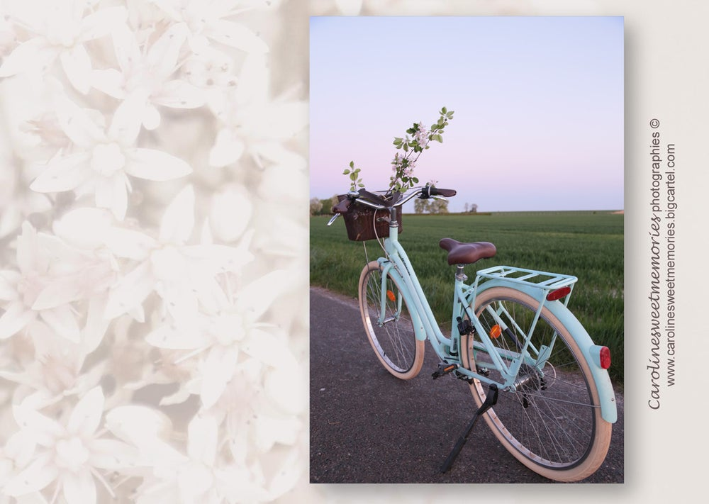 Image of Balade à vélo | carte postale