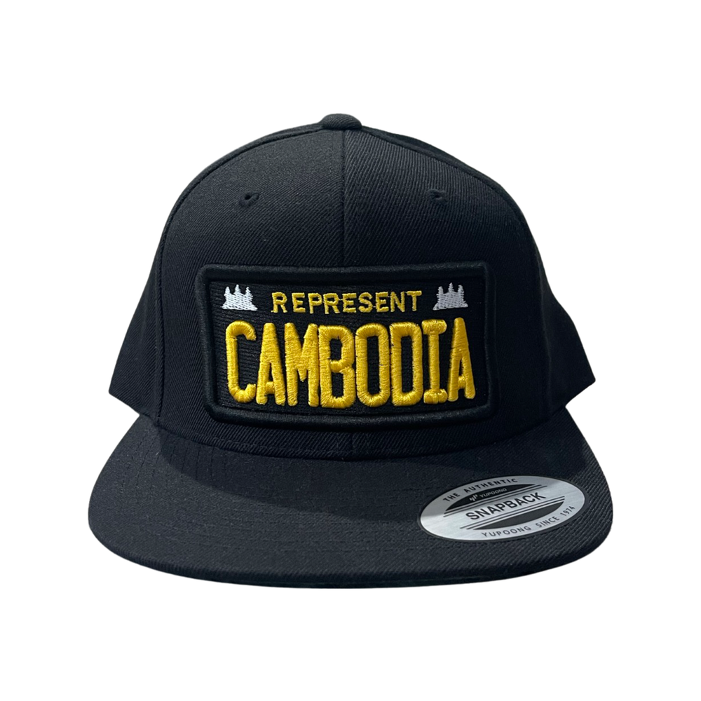 Image of License Plate Patch Snapback