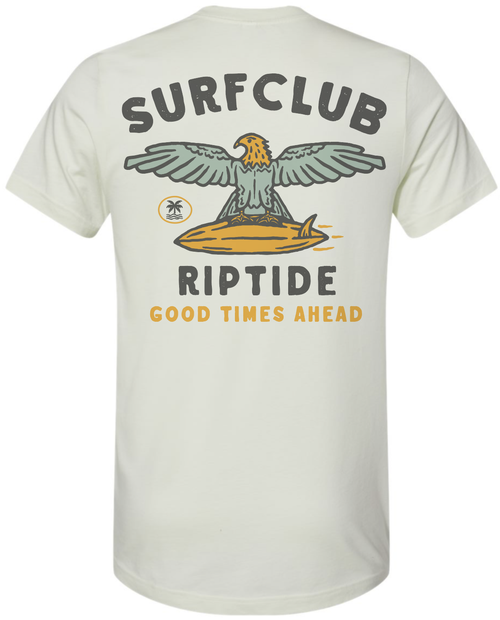 Image of The Surf Club Tee (citron)