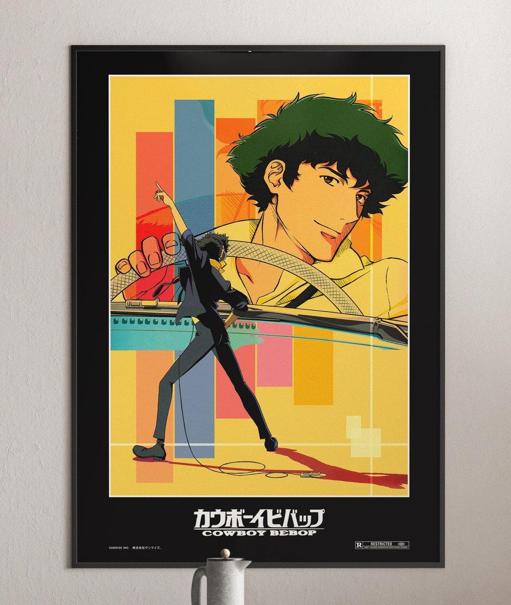 Cowboy Bebop  - Spike Spiegel Anime Series Poster