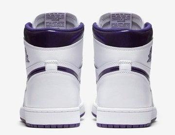 """Image of Air Jordan 1 """"Court Purple"""""""