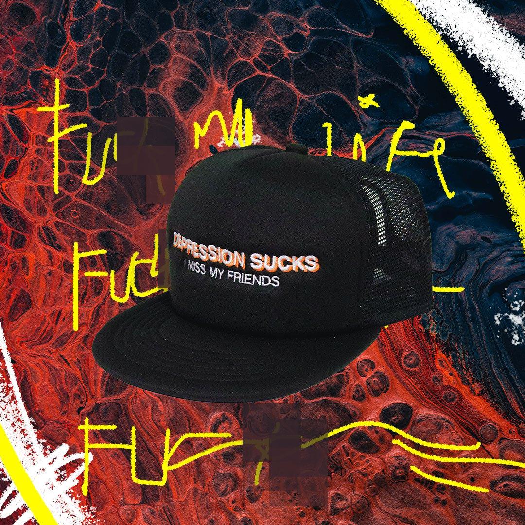 B A N A x PosterChild Depression Hat