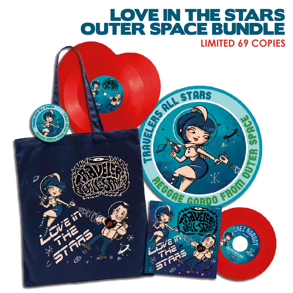 Image of LOVE IN THE STARS - OUTER SPACE BUNDLE