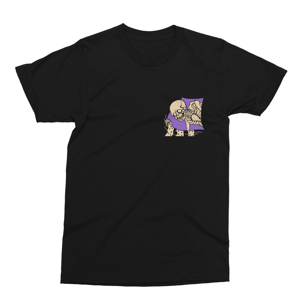 DEATH BY ROLL-UP 'PEEPING HELL' BLACK DOUBLE-SIDED TEE [PRE-ORDER]