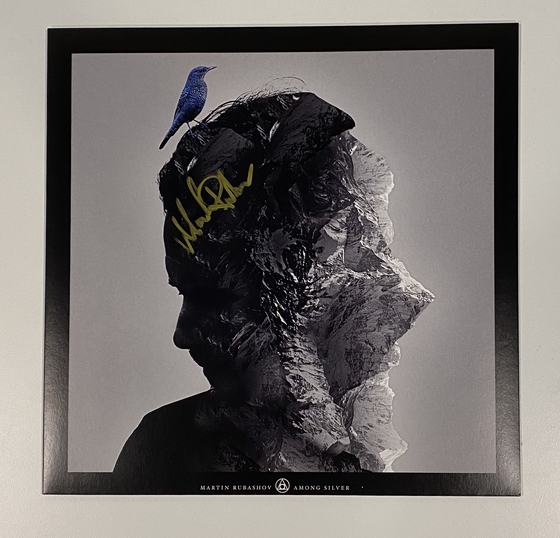 Image of MARTIN RUBASHOV - AMONG SILVER (CLEAR LP) SIGNED