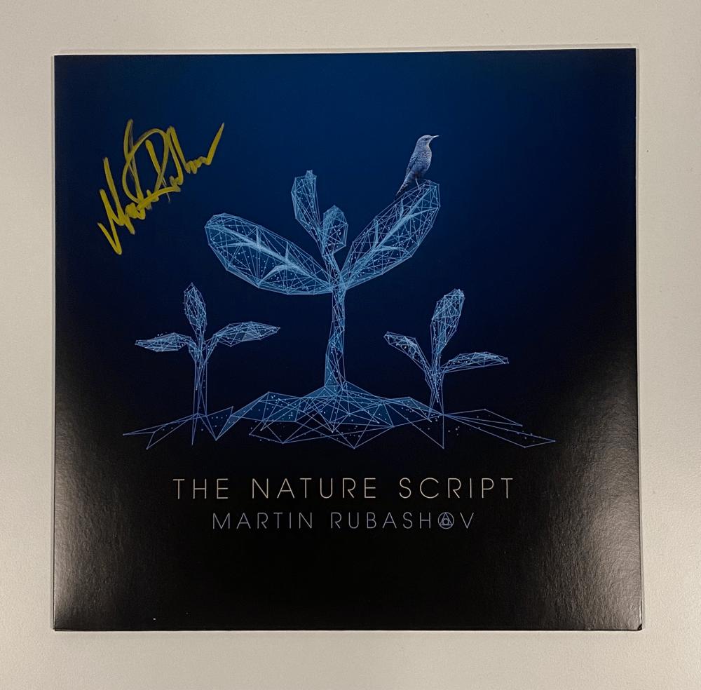"Image of MARTIN RUBASHOV - THE NATURE SCRIPT (12"" LP) SIGNED"