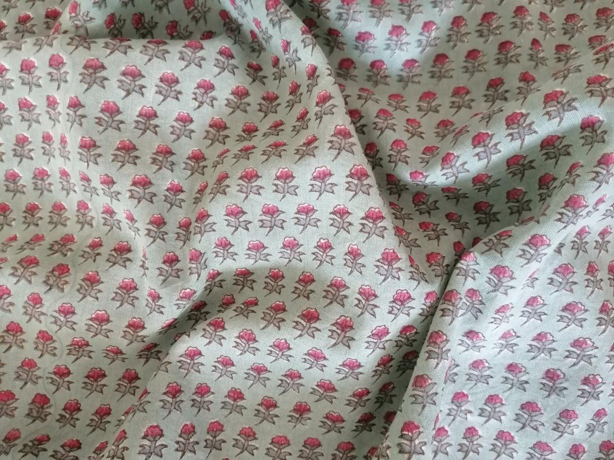 Image of Namasté fabric champs de fleurs