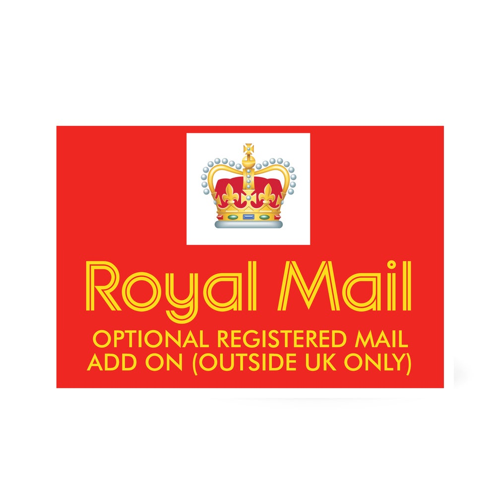 OPTIONAL REGISTERED MAIL ADD ON (OUTSIDE UK ONLY)