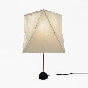 Image of Isamu Noguchi Light Sculpture AKARI BB1-YA1 Standing lamp