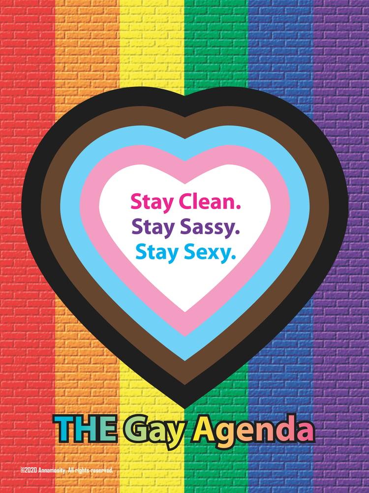 Image of THE Gay Agenda - Bar Soap
