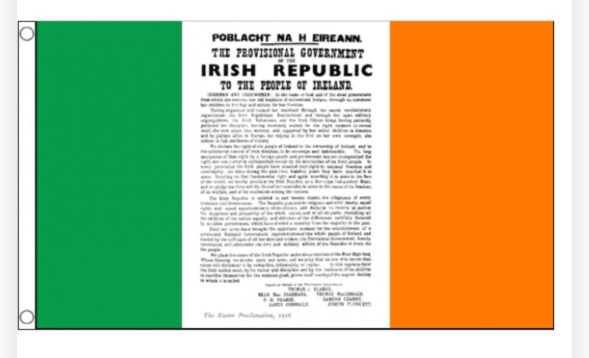 Proclamation Flag