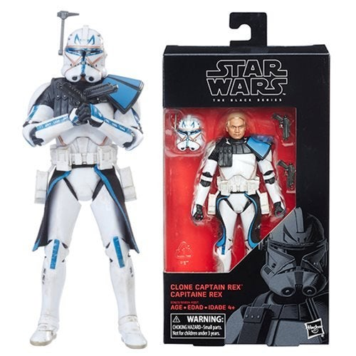Image of Star Wars The Black Series Captain Rex 6-Inch Action Figure