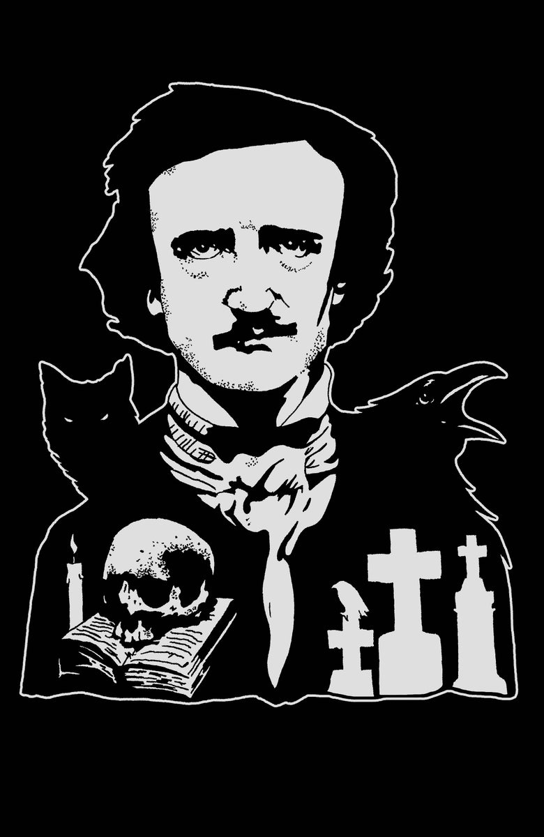 Image of Nevermore limited edition artprint Tribute to Edgar Allan Poe