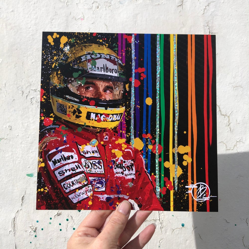 Image of Senna foil print