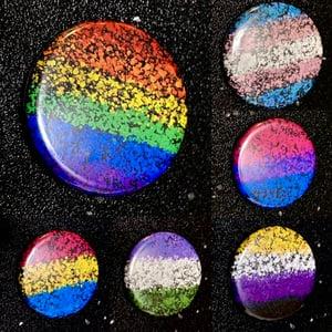"1.25"" Pride Paint Buttons"