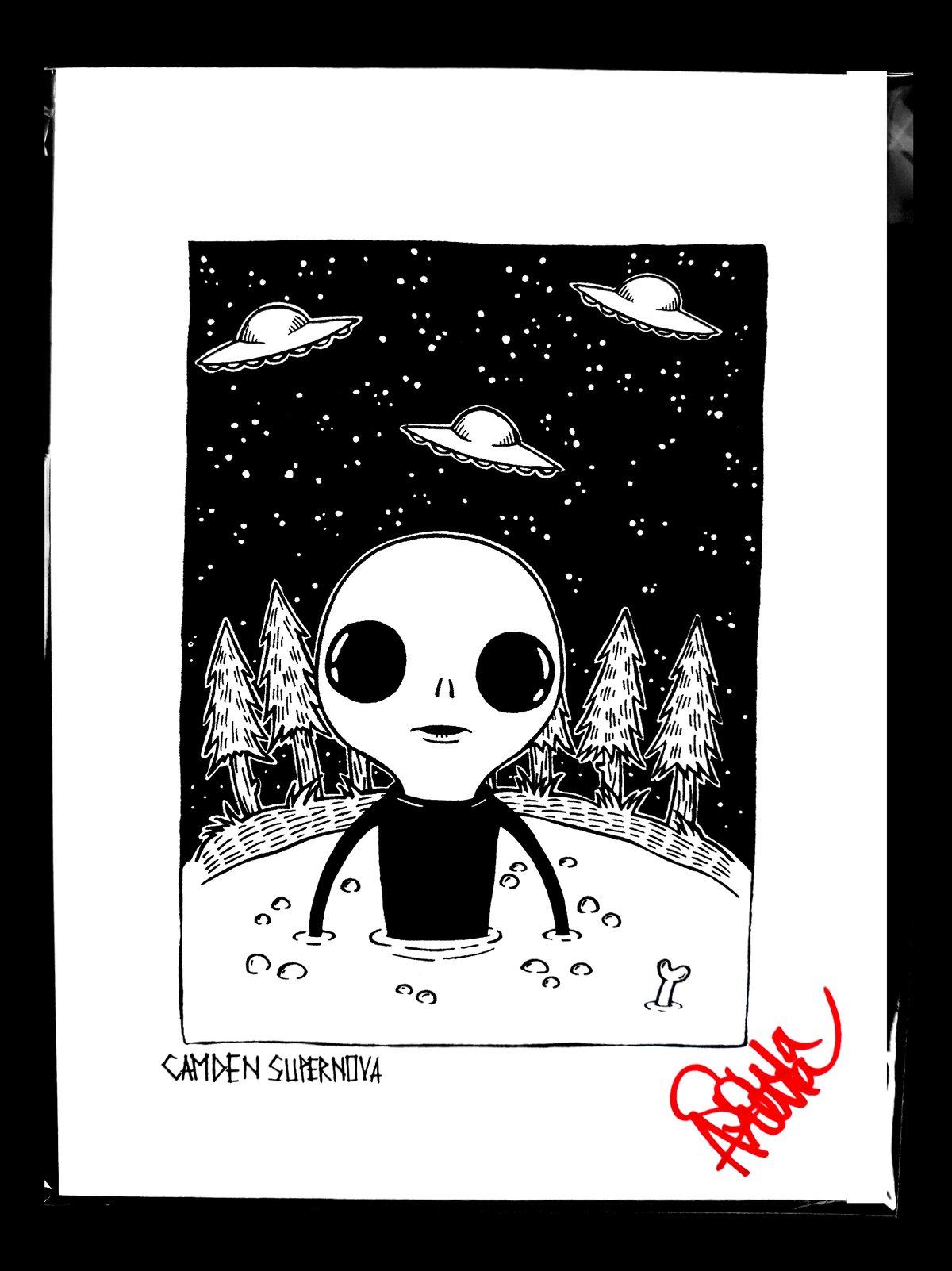 Image of Baby Alien Print