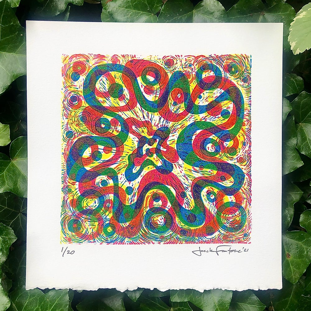 """Image of Adventure in Color #4: """"Circles and Slow Motion"""""""
