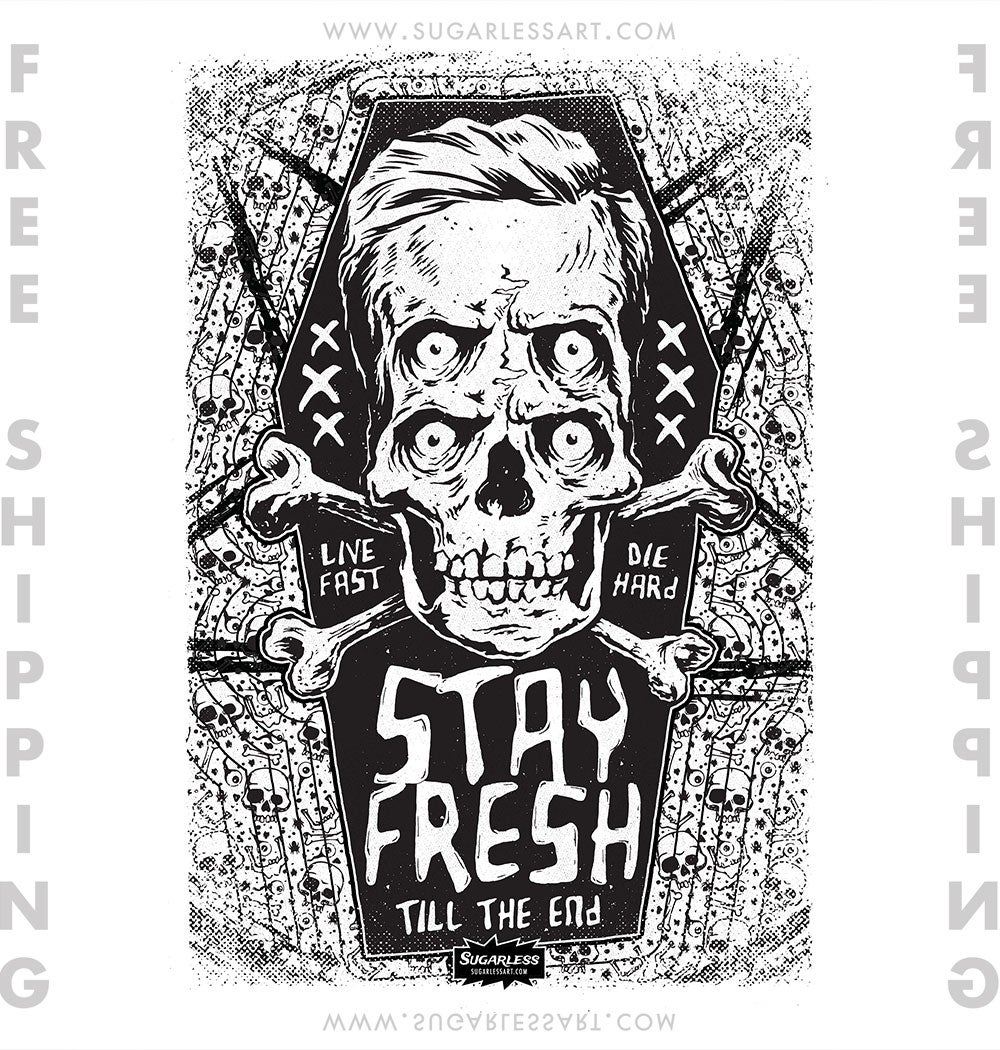 Stay Fresh Poster