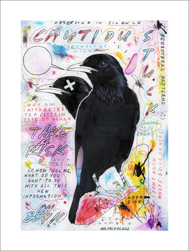 """Image of """"THE OBSERVER"""" - GICLEE PRINT"""