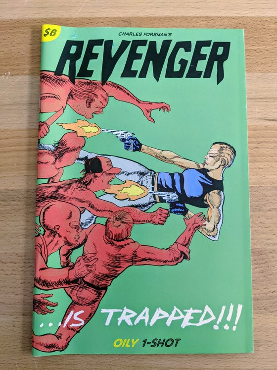 Image of Revenger is Trapped!!! one-shot