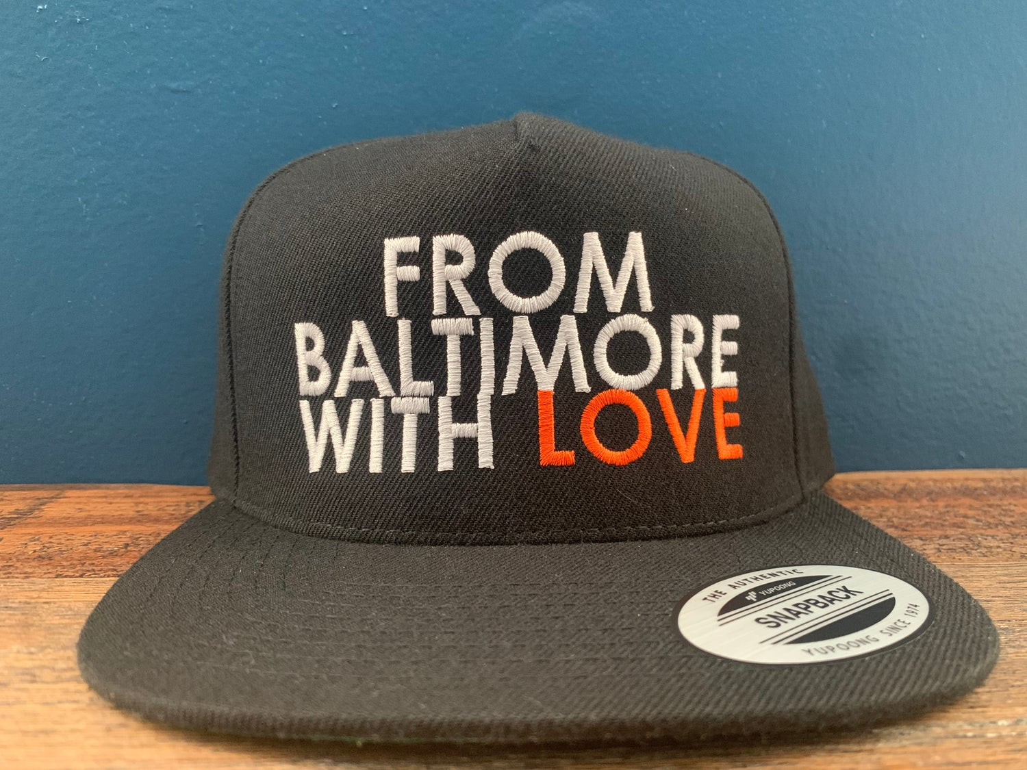 Image of From Baltimore With Love Snapback [ORANGE]