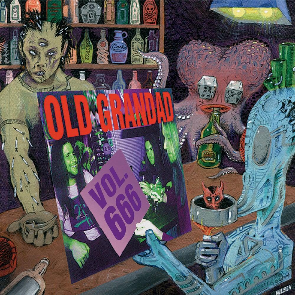 """Old Grandad """"Vol. 666 / OGD EP"""" 2 LP [PRE-ORDER]"""