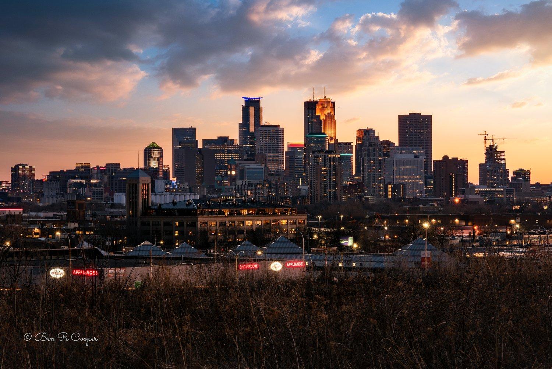 Minneapolis From Ridgway Park