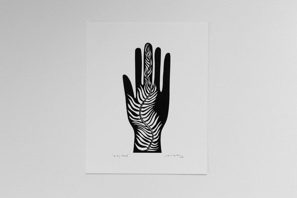 """Image of """"In My Hand"""" 8x10"""" Print"""