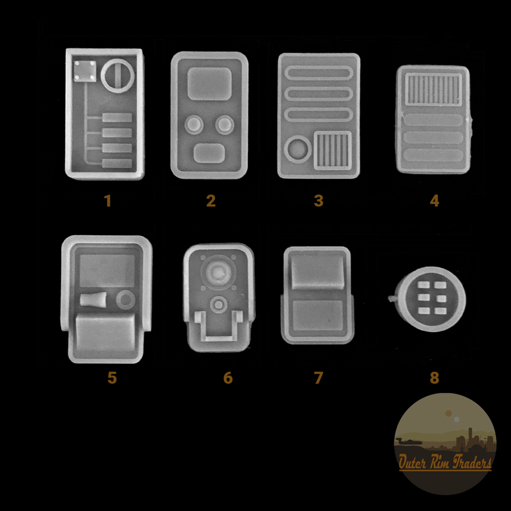 Image of Control Panels by Redflare Models