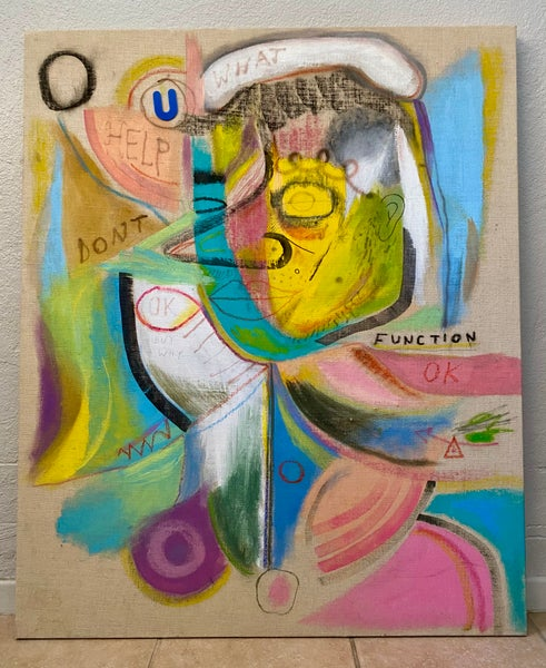"""Image of """"DON'T FUNCTION"""" ORIGINAL PAINTING"""