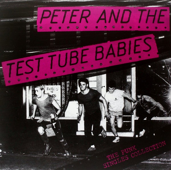 Image of Peter and the Test Tube Babies - Punk Singles Collection LP