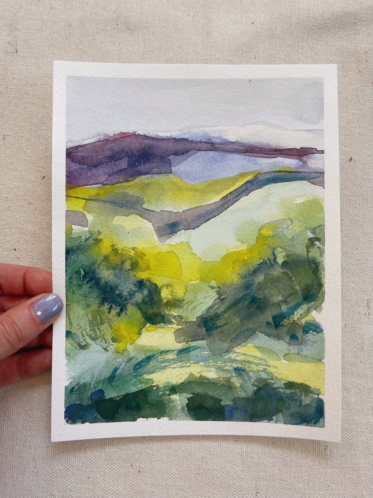 Image of Learn How to Paint Abstract Watercolor Landscapes