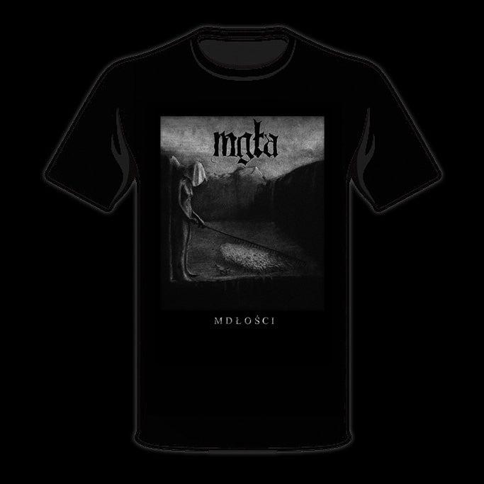 Image of MGŁA - 'Mdłości' men's t-shirt