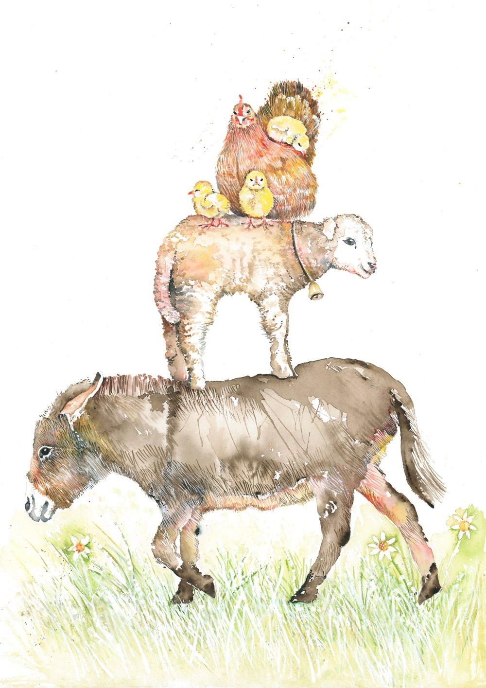 Image of Farmyard friends