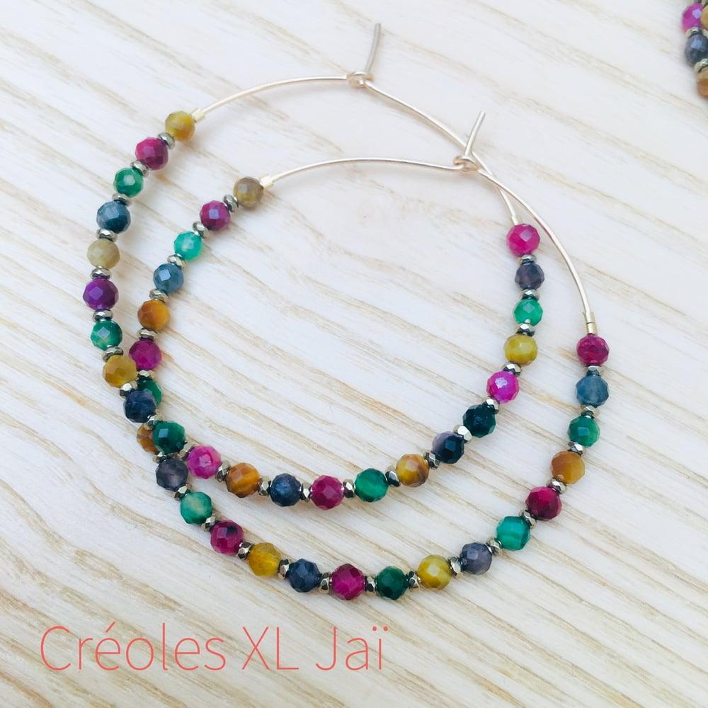 Image of CRÉOLES XL JAÏ Oeil de tigre